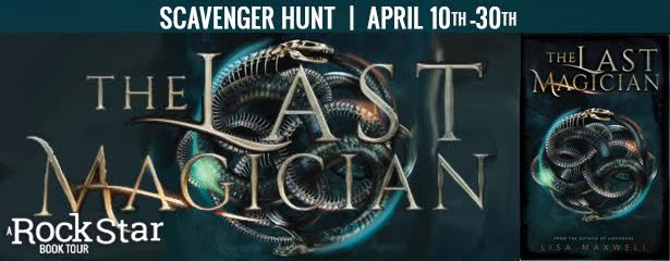 2 winners will receive a signed/personalized ARC's of THE LAST MAGICIAN, US Only.