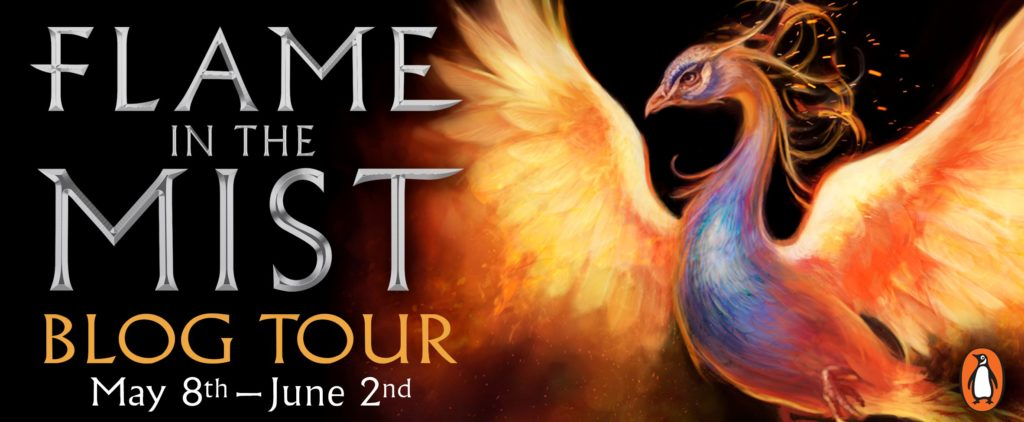 #Giveaway What's on RENEE AHDIEH's Desk? #win Flame in the Mist from @PenguinTeen @rahdieh ‏6.5