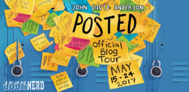 - 7 Winners will receive a Copy of POSTED by John David Anderson
