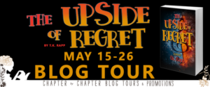 $10 #Giveaway What is on T.K. Rapp's Desk? The Upside of Regret by @TKAM78 6.2