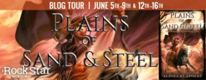 #Giveaway Review PLAINS OF SAND AND STEEL by Alisha Klapheke @alishaKlapheke
