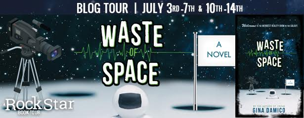 #Giveaway Review WASTE OF SPACE by Gina Damico @GinaDamico @HMHKids 7.16