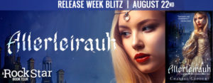 #Giveaway Excerpt ALLERLEIRAUH by Chantal Gadoury @cgadoury16 8.26