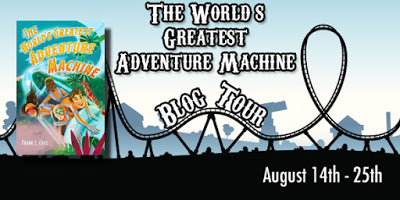 One (1) winner will receive a copy of The World's Greatest Adventure Machine and a set of two theme park tickets to the park of your choice (up to $125) US Only