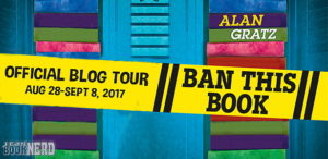 #Giveaway Review BAN THIS BOOK by Alan Gratz @AlanGratz  @TorTeen ‏9.16