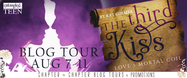 $20 #Giveaway What's on Kat Colmer's Desk? #win The Third Kiss @KatColmer @EntangledTeen 8.17