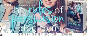 $20 #Giveaway Interview Rules of Persuasion by Amity Hope @AmityHopeAuthor @EntangledTeen 8.24