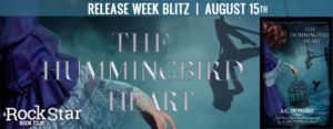 #Giveaway THE HUMMINGBIRD HEART by A.G. Howard @aghowardwrites 8.22