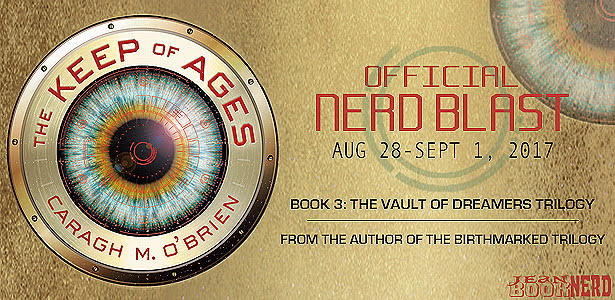 #Giveaway THE KEEP OF AGES by Caragh M. O'Brien @CaraghMOBrien @FierceReads 9.17