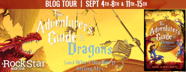 #Giveaway Review THE ADVENTURER'S GUIDE TO DRAGONS by Wade Albert White @wadealbertwhite @LBKids 9.19