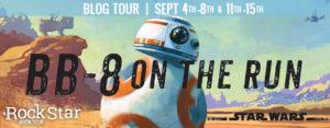 #Giveaway Excerpt BB-8 ON THE RUN by Drew Daywalt @DrewDaywalt @DisneyHyperion 9.20