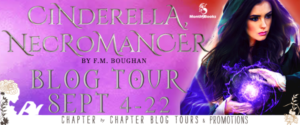 #Giveaway #10 FAV Books by F.M. Broughan #win CINDERELLA NECROMANCER @FaithBoughan @Month9Books 9.29