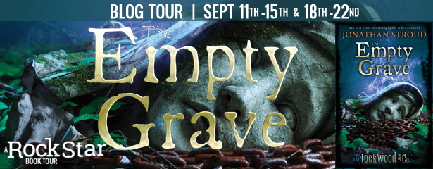 3 winners will receive a finished copy of THE EMPTY GRAVE, US Only.