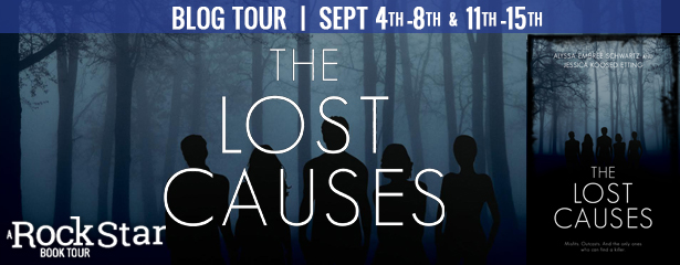 #Giveaway 10 FAV BOOKS by Jessica Etting & Alyssa Schwartz @LyssAndJess #win THE LOST CAUSES @KCPLoft ‏ 9.19
