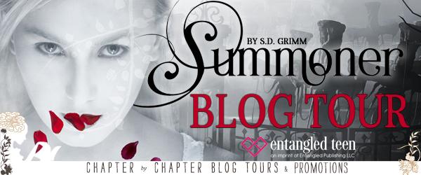$20 #Giveaway What's on S.D. Grimm's Desk? #win Summoner @SDGrimmAuthor @EntangledTeen 9.15