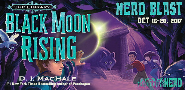 10 Winners will receive a Copy of BLACK MOON RISING and SURRENDER THE KEY by D.J. MacHale.