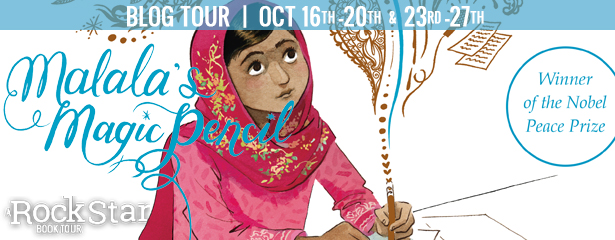 3 winners will receive a finished copy of MALALA'S MAGIC PENCIL ASSETS, US Only.