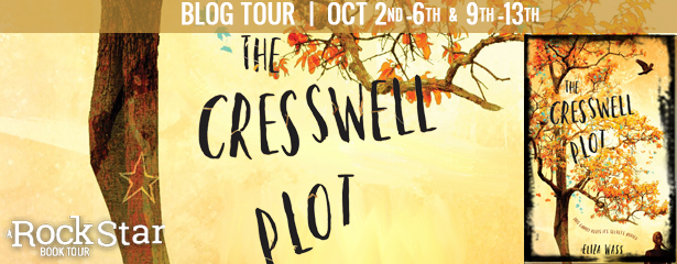 #Giveaway Review THE CRESSWELL PLOT by Eliza Wass @lovefaithmagic @DisneyHyperion 10.16