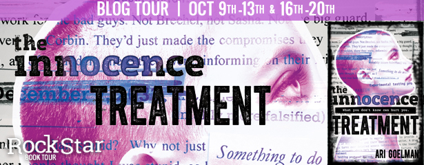3 winners will receive a finished copy of THE INNOCENCE TREATMENT, US Only.