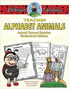 $100 #Giveaway Professor Ladybug Teaches Alphabet Animals 11.8