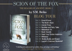 #Giveaway Interview Scion of the Fox by S.M. Beiko @SMBeiko 10.20