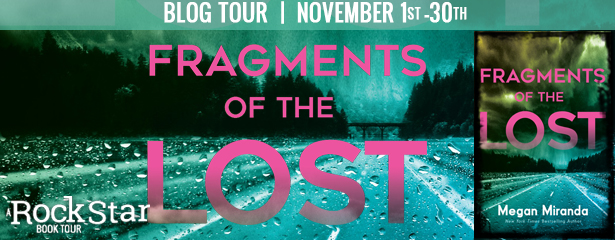 3 winners will receive a finished copy of FRAGMENTS OF THE LOST, US Only.